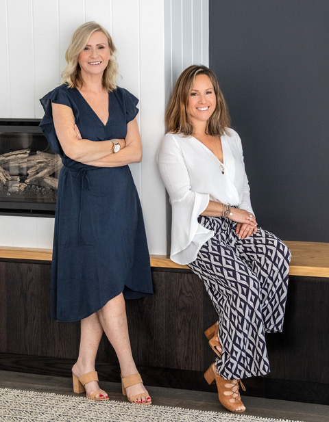 Interior Designers Shellie Nielsen and Naomi Nimmo