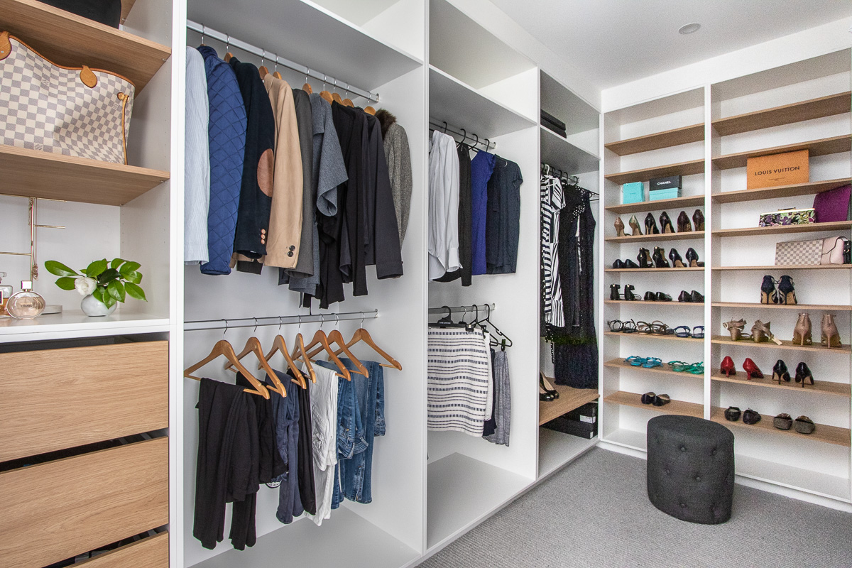 Wardrobe styling and organising | Nimmo Nielsen Collective